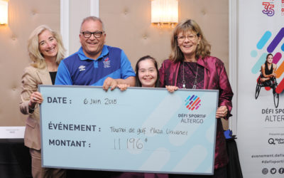 Plaza Universel Golf Tournament: Over $11,000 Raised for Défi sportif AlterGo's Young Athletes