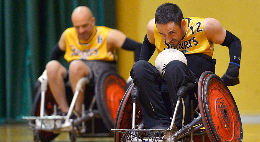 Wheelchair Volleyball tournament - Défi sportif AlterGo