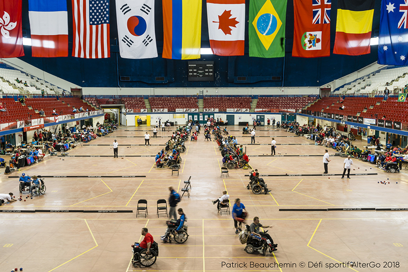 Upcoming 4th Boccia World Open in Montreal