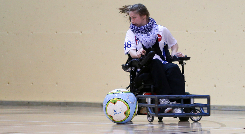 Powerchair soccer - Six international sports are featured on Défi sportif AlterGo 2018 program
