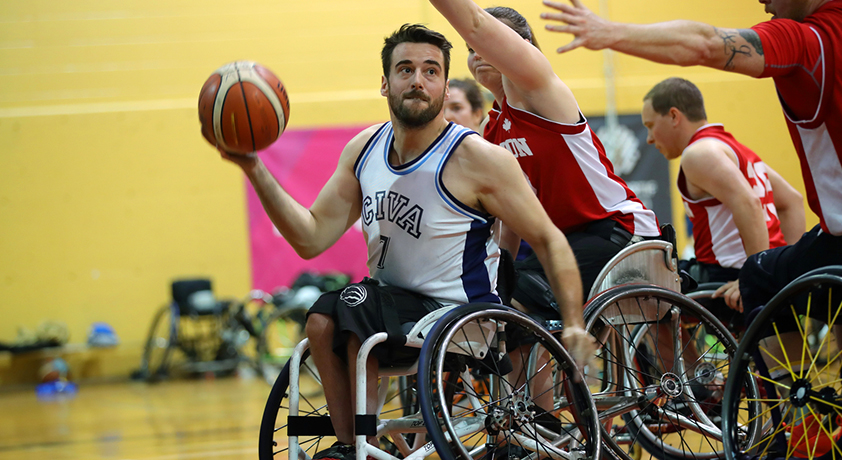 Wheelchair Basketball tournament - Défi sportif Altergo